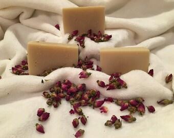 Rose handmade Soap FREE SHIPPING