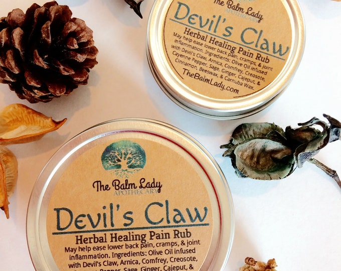 Devil's Claw | Extra Strength Pain Formula | Back, Joint, Arthritis Pain | Lower back pain relief | Carpal Tunnel Pain Relief