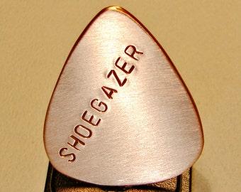 Copper Guitar Pick Handmade for the Shoegazer - GP231