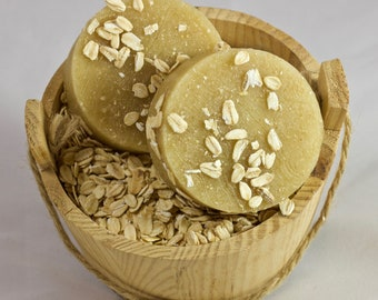 Handmade oatmeal and Honey soap