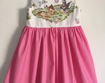 Bambi tea party dress