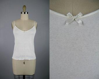 Cotton Knit Camisole by CALIDA Bodywear NOS Unworn Size M Item 13102