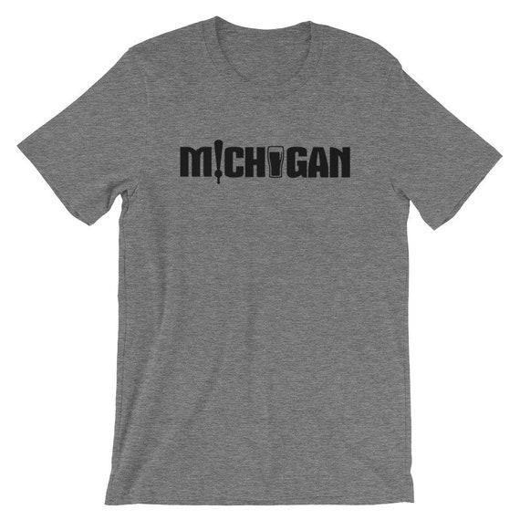Michigan Beer Short-Sleeve Unisex T-Shirt