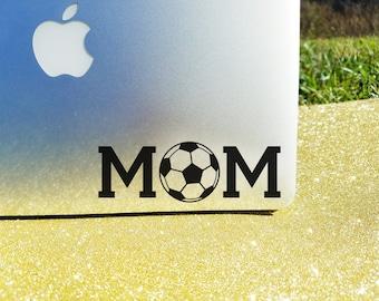 Soccer Mom Decal, Soccer Mom Car Window Sticker, Soccer Car Decal, Vinyl Decal, Soccer Mom Gift, Soccer Gift, Team Gift, Macbook Sticker