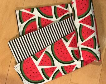 Baby Blanket Girl - toddler blanket - watermelon blanket - modern nursery