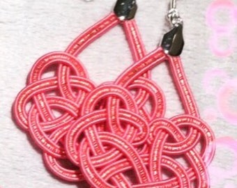 Pink earring (large)