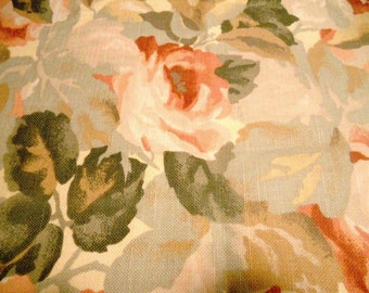 2 + yds Country Cottage Rose Fabric
