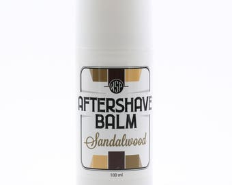 Cooling Aftershave Balm 3.4oz 100ml (Sandalwood) FREE SHIPPING