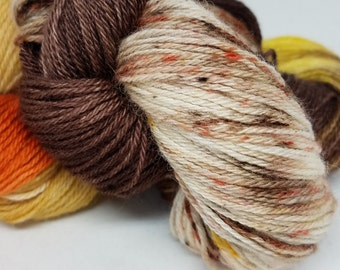 Donegal Sock Hand-dyed Yarn - Autumn Leaf