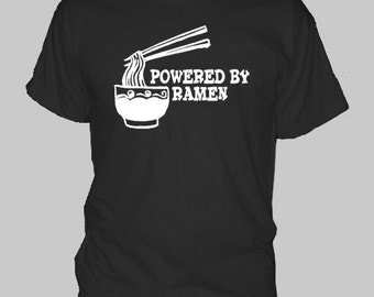 RAMEN ASIAN FOOD college food t-shirt tee shirt short or long sleeve your choice! all sizes many colors