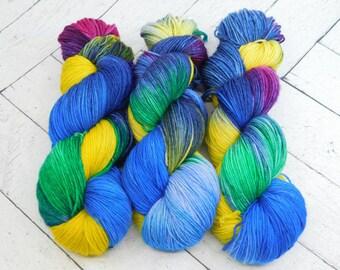 Breanna's Dream- Hand Dyed Superwash Sock Yarn