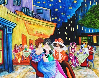 Prints, Art Print, van Gogh, Starry Night Print, van Gogh print, Vincent van Gogh, Wall Art Print, Home Decor
