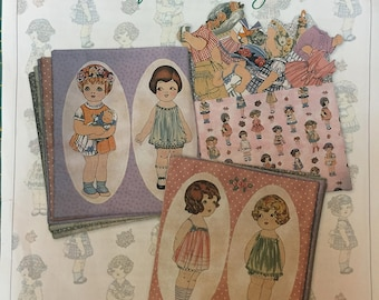 Cloth Paper Doll Book to Make