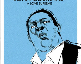 John Coltrane A Love Supreme Poster
