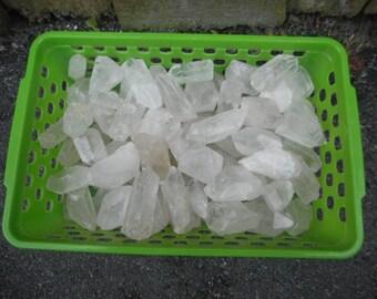 Quartz Crystal Points 5 POUNDS Lot Bulk Wholesale Collection