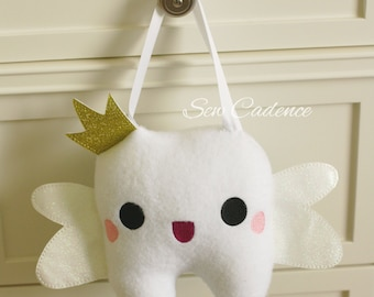Tooth Fairy Pillow with pocket for Tooth Money ~ Tooth Pillow ~ Dentist Pillow ~ First Tooth Pillow ~ Kids First Tooth ~ Tooth Fairy Magic