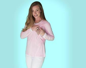 Pink Nursing Top