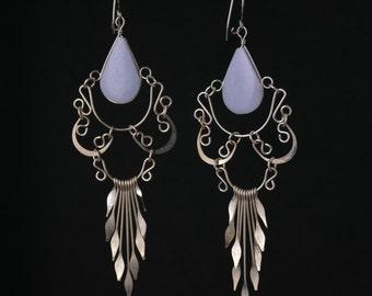 """Ethnic Earrings // Tribal Earrings // Boho Earrings // Ethnic Jewelry // Bohemian Earrings //  Boho Jewelry // Gypsy Earrings // 3.5"""""""
