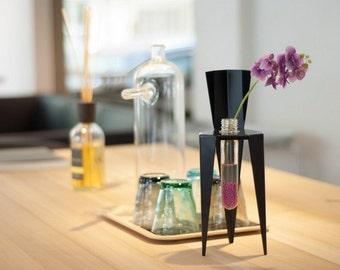 Ding Test Tube Vase, iron, decor, flower, green, gift, creative, housewares