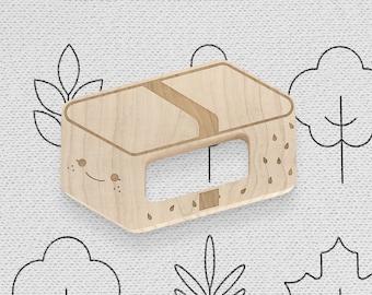 Tamago Nigiri Natural Wooden Teether
