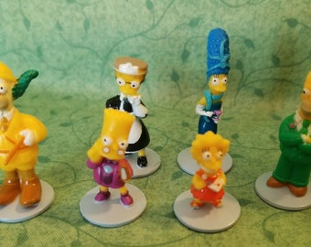 Simpson Character Game Pieces Ready to Repurpose ~ Kids Crafts, Altered Art