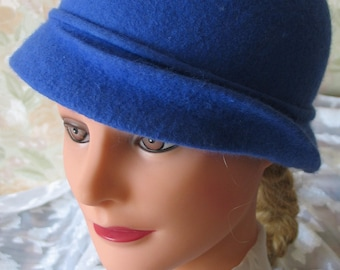 Hat felt. Gift for women. Clothing.