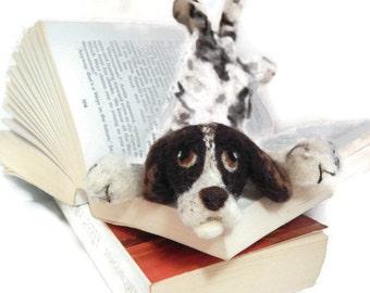 Splat - Custom - your Dog as a bookmark - Example cocker spaniel bookmark