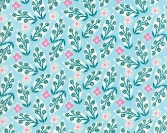 Moda VOYAGE by Kate Spain-Jambi in Turquoise (27282 11)-by the YARD