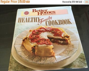 ON SALE Cook Book Better Homes and Gardens Healthy Family Cook Book Copyright 1995