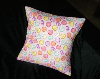 Pillow cover - sweet hearts