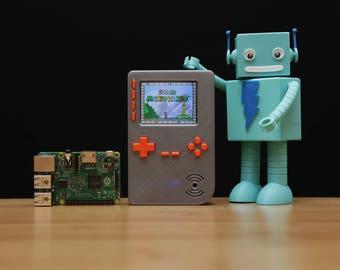 PiGRRL 2 Raspberry Pi zero RetroPie Nintendo GameBoy DIY  Adafruit Retropie Handheld Gift for Him Retropie Kit Pigrrl Raspberry Pi Gameboy