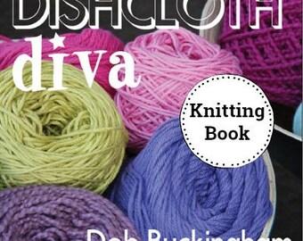 KNITTING BOOK-Dishcloth Diva, Dishcloth Pattern, Knitting Pattern, Dishcloth Pattern, Knitting,  Free Shipping