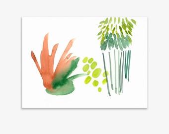 Unrecognisable Parts Of Our Garden 10, print on fine art paper