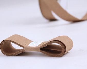 KRAFT 100 Percent Recycled Paper Ribbon 5 Yards