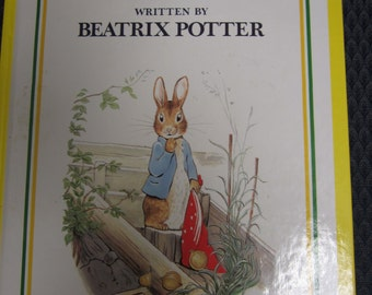 Peter Rabbit, and Other Stories, Beatrix Potter, large childrens book, 1977, excellent condition, mailed from Canada