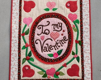 To My Valentine Wall Hanging