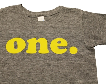 one. shirt, first birthday shirt, second birthday shirt, third birthday shirt, fourth birthday shirt, kids birthday shirt