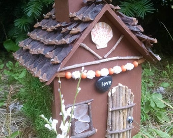 Garden Fairy house, Garden decoration, Fairy house, Hand made fairy house