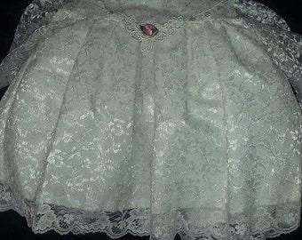 Rose Cottage baby dress