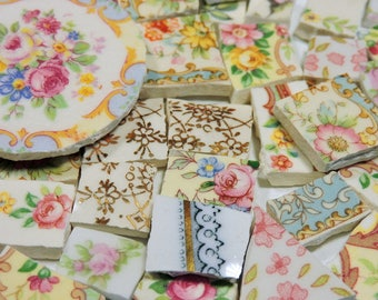 China Mosaic Tiles - SHaBBY CHiC CoLLeCTiON - 150 Mosaic Tiles