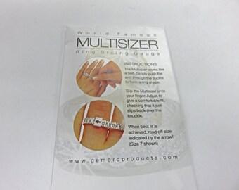 Ring Sizer - Multisizer Ring Sizing Gauge