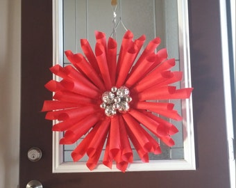 old time book wreaths