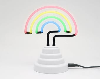 Mini Rainbow Light Neon Sign
