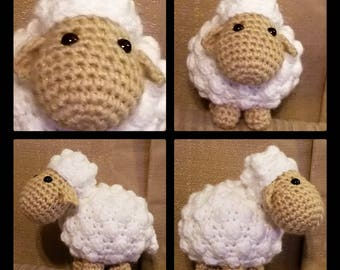Mini Sheep Crochet Pattern