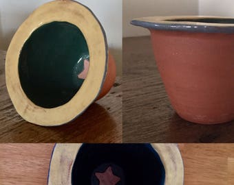 Vintage Irish Terracotta Pottery ... Free Shipping