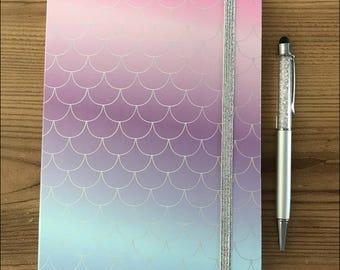 Mermaid Hardback Notebook, A5