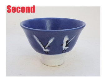 Bowl with Red Crowned Crane decoration