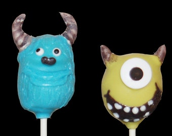 Monster cake pops Etsy
