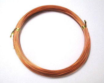 10 m salmon 0.8 mm reel color aluminum wire