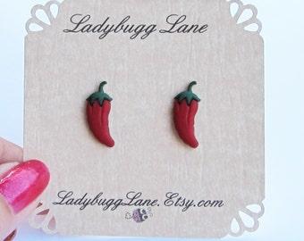 Red Pepper Earrings